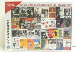 Posters Spanning United Way 100 Year History 500 Pc Puzzle Eastman Roche... - $25.73