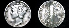 1944-D Mercury Dime Silver - $4.99