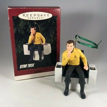 Hallmark Star Trek Christmas Ornament - Captain James T Kirk - with Box - $19.00