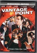 """DVD """"VANTAGE POINT"""" Denis Quaid, Matthew Fox, Action Thriller,PG13,Spain... - $3.95"""