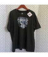 MLB Tampa Bay Rays gray baseball tee 3x - $26.73