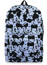 Disney EXCLUSIVE  Mickey Mouse Expressions Backpack - Blue/Black NWT - $27.71