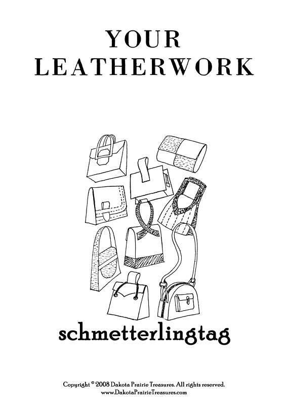 Leatherwork Book Make Making Purses Shoes Moccasins1947
