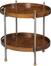 Scarborough House Myrtle Burl Butler's Tray  Oval Antique - $1,629.00