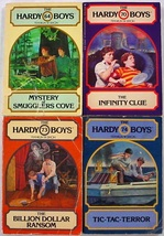 Hardy Boys 4 LOT Wanderer Paperback Editions no.64, 70, 73, 74 Franklin ... - $12.00