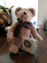 Boyds Bear Hazelnut B. Bean J B Bean Associates on stand - $7.92