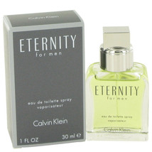 ETERNITY by Calvin Klein 1 oz / 30 ml EDT Spray for Men - $30.68