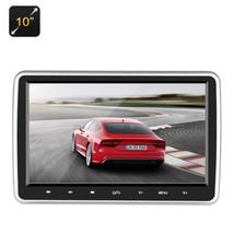 10 Inch Car Headrest DVD Player - Region Free, IR Remote Control - $128.99