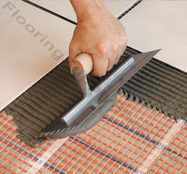 SunTouch Floor Heating Tape Mat Kits 2ft 110 sq - 2ft Wide