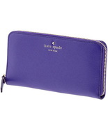KATE SPADE MIKAS POND LACEY ASTER PURPLE LEATHE... - $162.00