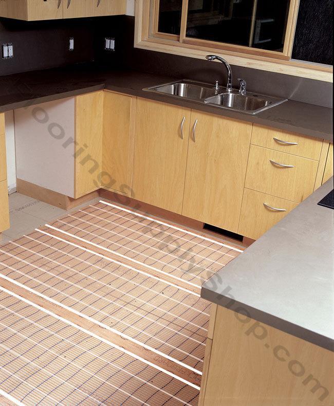 SunTouch Floor Heating Tape Mat Kits 2ft 140 sq - 2ft Wide