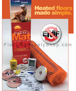 SunTouch Floor Heating Tape Mat Kits 2ft 150 sq - 2ft Wide - $2,556.00