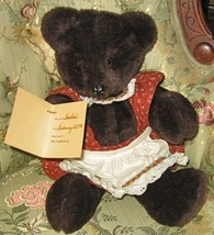 "1-of-kind Lg Cuddly ""Heather"" Artist Signed Bear•100% Charity Listing•Gr... - $45.00"