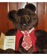 1-of-kind Lg Cuddly New Bear •Artist Signed•100% for Charity•Great Gift - $42.00