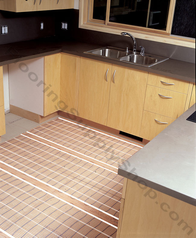 SunTouch Electric Radiant Floor Heat Mats 80 sq ft Kit - 2 ft Wide