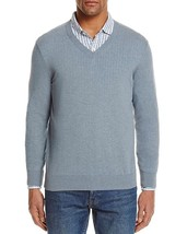 The Men's Store at Bloomingdale's Cotton V-Neck Sweater , Size L - $39.59