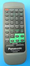Genuine OEM Panasonic Audio System Remote Control EUR648202 image 1