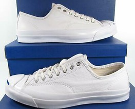 Converse Jack Purcell JP Signature Series Ox WHITE Leather 149909C (Men'... - $66.00