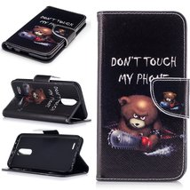 XYX Wallet Phone Case for LG K20 Plus Case,LG LV5,[Do not Touch My Phone... - $9.88