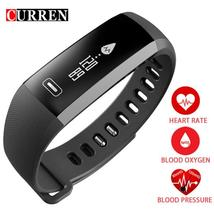 CURREN R5 PRO Smart Band Fitness Tracker Bracelet Heartrate Blood Pressure Watch - $45.18