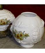 Lion Head Glass GWTW Oil Kerosene Electric Lamp... - $188.67