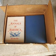The Annals of America (Encyclopedia Brittanica, Vols 1-21 plus Introduct... - $43.55