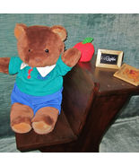 Preppy Bear+Hvy Wood School Desk+Accessories•Gr... - $52.80