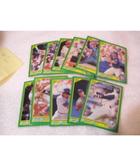 Score 90 Baseball Trading Card Lot# 1 (11 cards) - $1.00