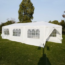 30 x 10 ft Outdoor Party Canopy Tent with 8 Walls - $194.37
