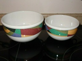 2pc Studio Nova Impulse Y2262 South Western Nesting Bowl Pair - $44.54
