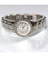 NEW GUESS W097L1 Silver Tone Chain Stainless Steel  Women Small Dial Watch - $75.24
