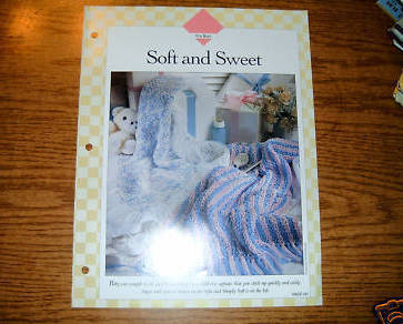 Vanna's Afghans & Crochet Favorites, For Baby Soft & Sweet