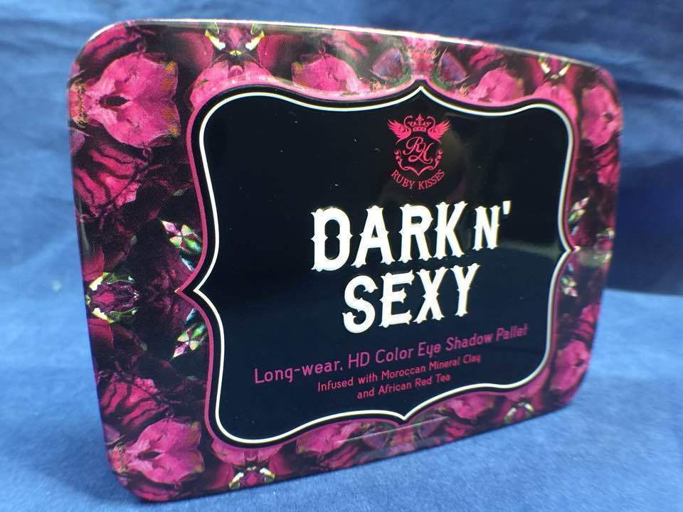Primary image for RUBY KISSES DARK N' SEXY LONG WEAR HD COLOR EYE SHADOW PALLET #RSK02