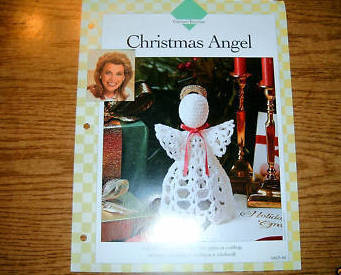 Vanna's Favorites, Crochet Christmas Angel Pattern