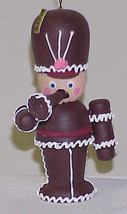 HERSHEY SOLDIER - Vintage Wood Christmas Ornament - $10.00