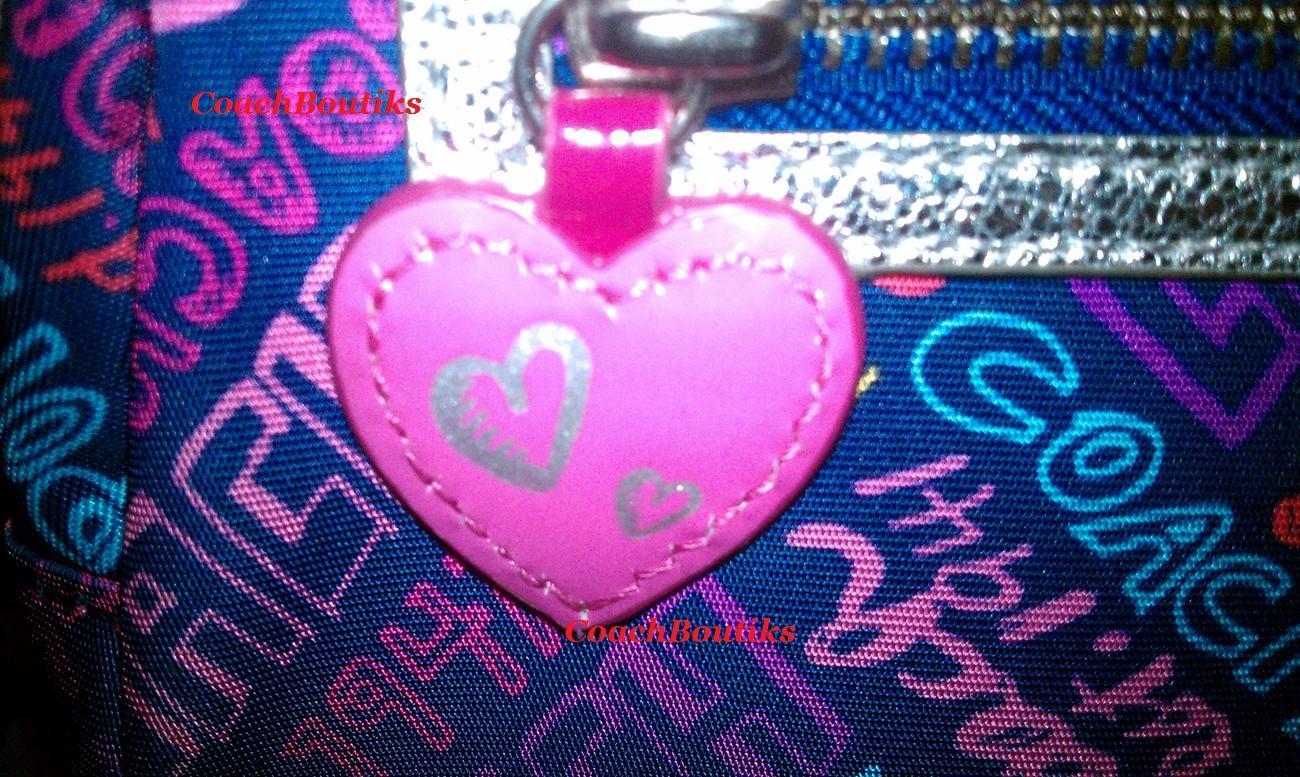 COACH Nylon Large Cosmetic Bag NWT 43997