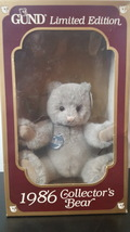 1986 GUND Limited Edition Bear - $25.00