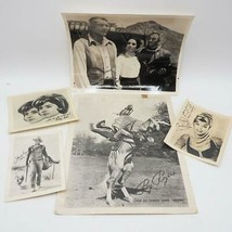 Lot of Vtg Autosigned Autographed Photos 1950's & 1960's Television TV S... - $24.74