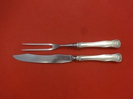 King by Kirk Sterling Silver Steak Carving Set 2pc HHWS  (Knife & Fork) - $129.00