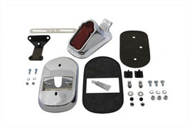 New For Harley Davidson Chrome Tombstone Taillamp Kit Fxd Xl 99-UP - $107.54