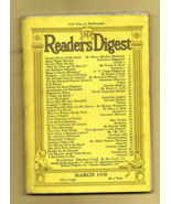 Pair, 1938 READER'S DIGEST Magazines (March. & April 1938) Interesting A... - $12.50