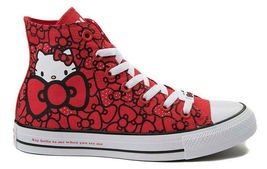 Converse X by Hello Kitty Limited Edition Sneakers Unisex Shoes Men's Women's image 8