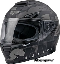 XS Fly Racing Sentinel Ambush Motorcycle Helmet Camo/Grey/Black DOT & ECE  image 1
