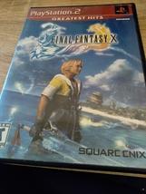 Sony PS2 Final Fantasy X (no manual) image 1
