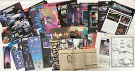 Star Trek TNG News Article Ads Photos Book Mark Room Sign Conferece Coll... - $14.50