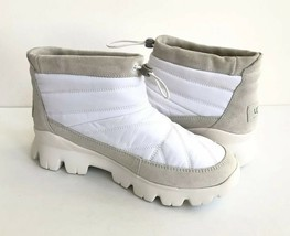 UGG CENTARA WHITE WATERPROOF ANKLE QUILTED SNEAKER SHOE US 6.5 / EU 37.5 /UK 4.5 image 2