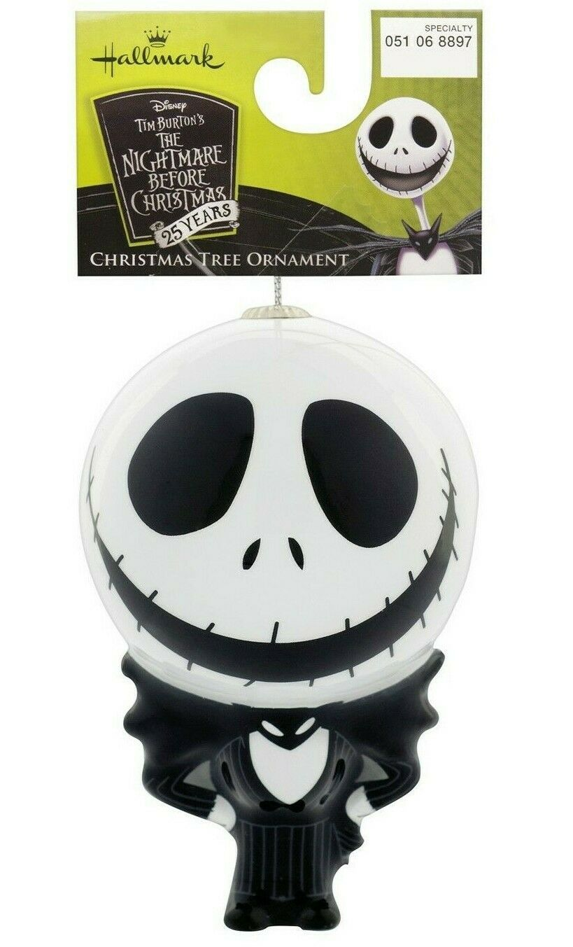 Poinçon Cauchemar avant Noël Jack Skellington Smoking Decoupage Ornement