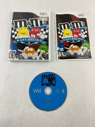 Primary image for M&M's Kart Racing Nintendo Wii Game 2007 Destination Software with Manual