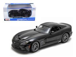 2013 Dodge Viper SRT GTS Black 1/24 Diecast Model Car by Maisto - $31.66