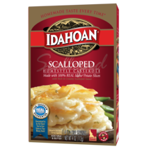 Idahoan Scalloped Homestyle Casserole, 4 oz Box - $2.30